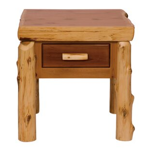 Cedar End Table by Fireside Lodge