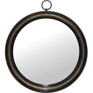 Charlton Home Savana Oval Framed Wall Mirror