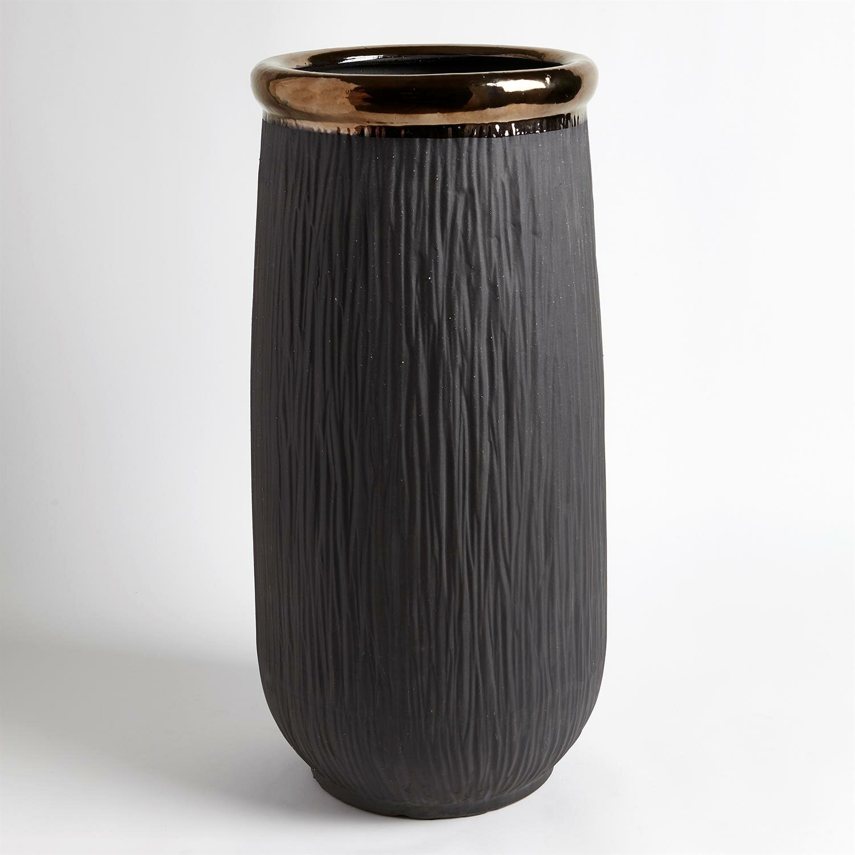 Global Views Black 22 5 Ceramic Table Vase Wayfair