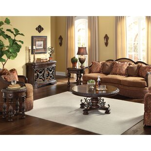 Astoria Grand Evelyn 4 Piece Coffee Table Set
