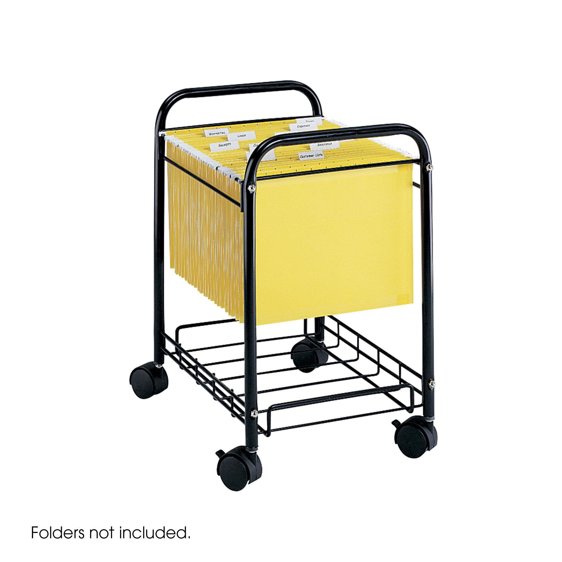 Mobile Under Desk File Cart