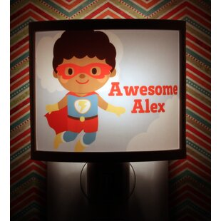 Common Rebels Jumping Hero Personalized Night Light