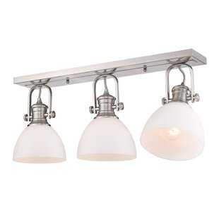 Vedder 3-Light Semi Flush Mount by Gracie Oaks