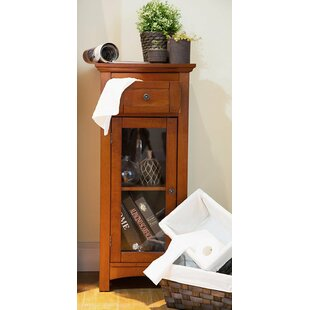 Wooden Floor 1 Drawer Storage Cabinet by Glitzhome