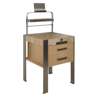 Beckman Kitchen Island With Wood Top By Williston Forge