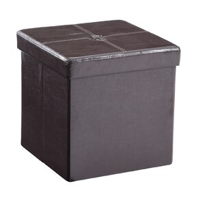 Carisbrooke Cube Upholstered Storage Ottoman by Andover Mills