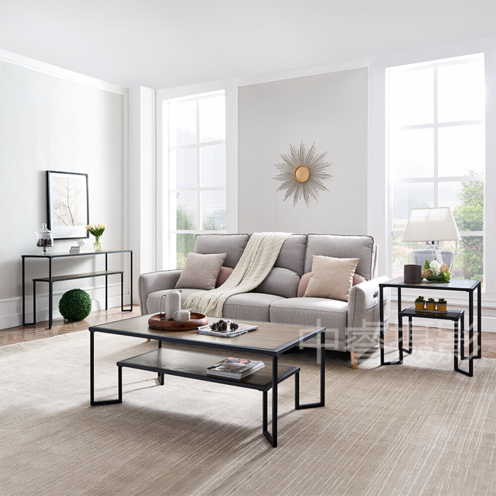 Latitude Run Docie Frame Coffee Table With Storage Wayfair