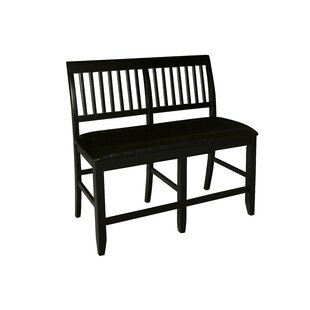 Dabrowski Faux leather Bench