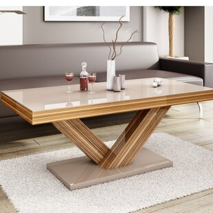 wood coffee table legs Turned Leg Coffee Table | Wayfair wood coffee table legs