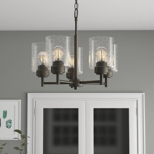 Latitude Run Honea 5-Light Shaded Chandelier