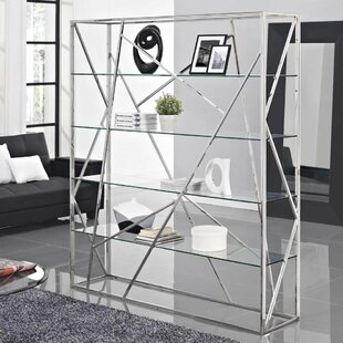 Coupon Sonja Divider Etagere Bookcase by Orren Ellis