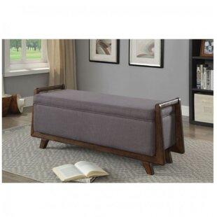 Gracie Oaks Chrisman Upholstered Storage ..