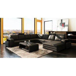 Wade Logan Waugh Sectional with Ottoman