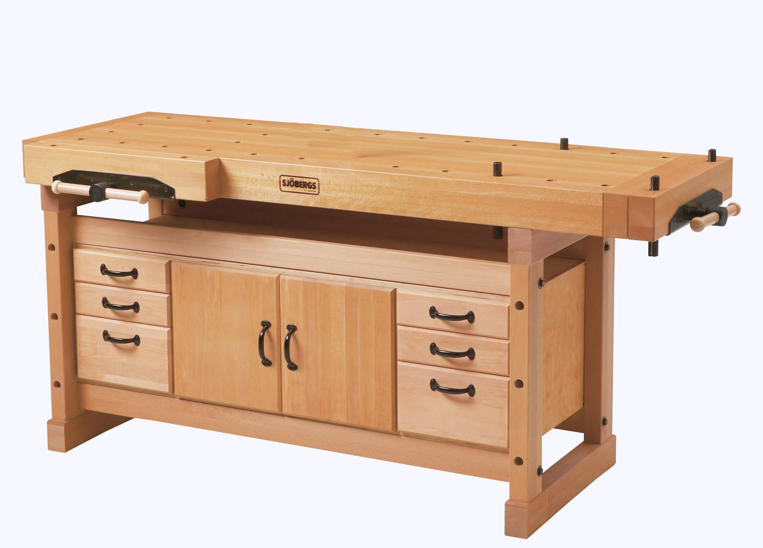 Cool Elite 2000 76W Wood Top Workbench With Cabinet And Accessory Kit Combo Machost Co Dining Chair Design Ideas Machostcouk
