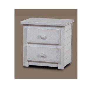 Harriet Bee Chestertown 2 Drawer Nightstand