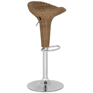 Fajardo Adjustable Height Swivel Bar Stoo..