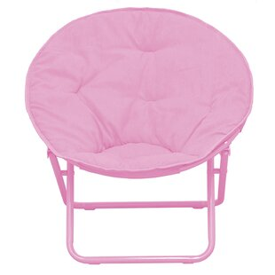 Phillip Faux Fur Saucer Kids Chair by Harriet Bee