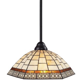 Fleur De Lis Living Billington 1-Light Dome Pendant