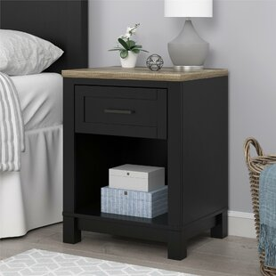 Pettigrew 1 Drawer Nightstand by Andover Mills