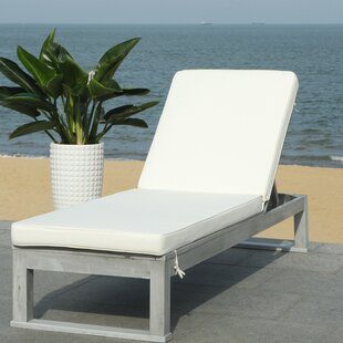 Darlington Sunlounger Reclining Chaise Lounge with Cushion