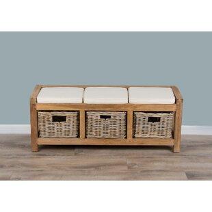 Free Shipping Alyson Wood Storage Bench