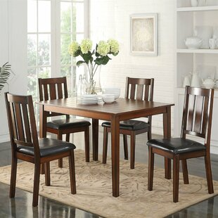 Andy 5 Piece Dining Set by A&J Homes Studio