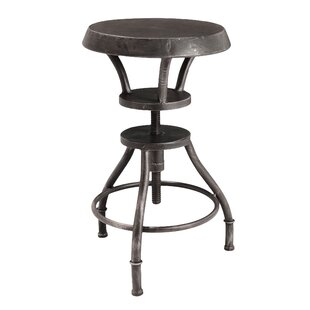 Williston Forge Baulch Adjustable Height Swivel Bar Stool