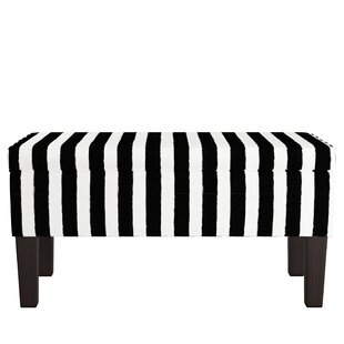 Mercer41 Carmel Upholstered Storage Bench