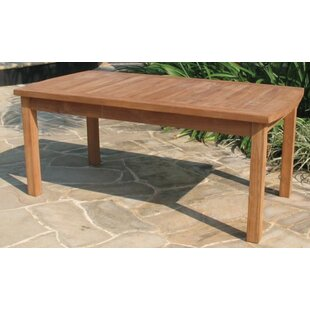 Gassaway Teak Coffee Table by Highland Du..