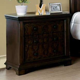 Gladney 2 Drawer Nightstand