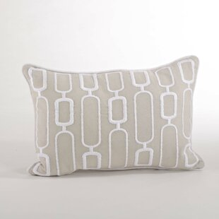 Modernica Stitched Design Down Filled Throw Pillow