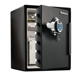 Fingerprint Water-Resistant Dual-Lock with Security Safe by Sentry Safe