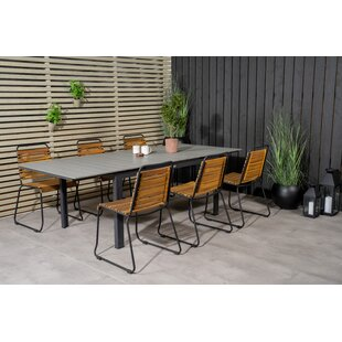 Alcot 6 Seater Dining Set By Sol 72 Outdoor