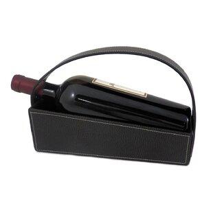 Arlean 1 Bottle Hanging Wine Rack by Wins..