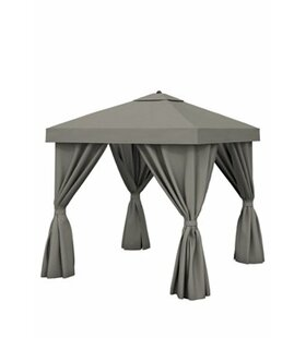 Basta 8 Ft. W x 8 Ft. D Aluminum Patio Gazebo by Tropitone