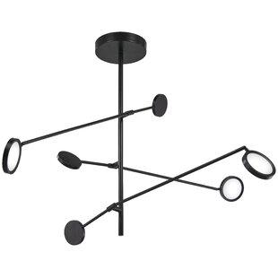 Fiarmont 1-Light LED Sputnik Chandelier