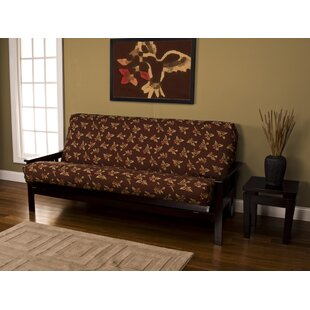 Zipper Box Cushion Futon Slipcover by Red Barrel Studio