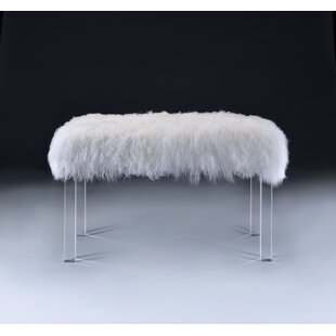 Everly Quinn Froelich UpholsteredBench