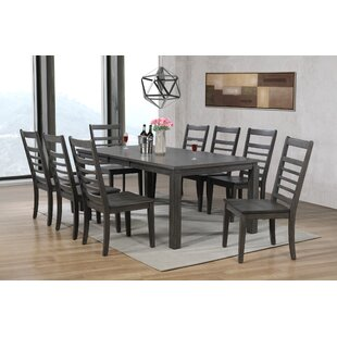 Morin 9 Piece Dining Set Canora Grey