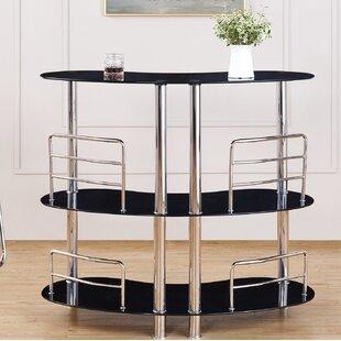 Global Furniture USA Bar with Wine Storage
