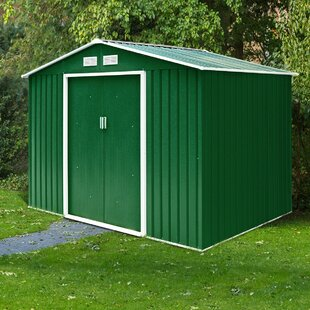 9 Ft. W X 6 Ft. D Metal Garden Shed By WFX Utility