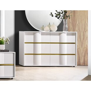 Marylyn 6 Drawer Double Dresser