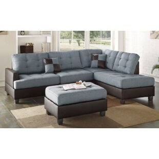 A&J Homes Studio Smart Sectional with ott..