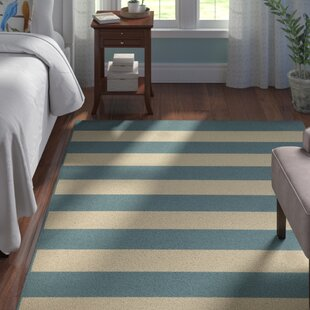 Alford Dark Teal Indoor/Outdoor Area Rug