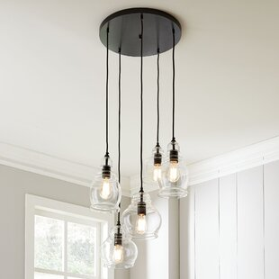 Collis 5-Light Cluster Pendant by Birch Lane? Heritage
