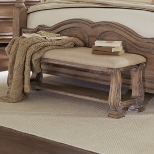 One Allium Way George Upholstered Bench