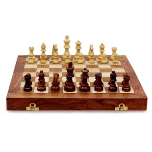 Test Of The Mind Wood Chess Set