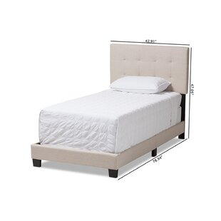 Newhaven Upholstered Platform Bed by Ebern Designs Best Choices
