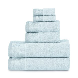 Sheila 6 Piece Cotton Towel Set