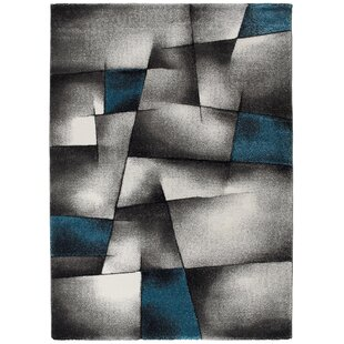 Barrymore Grey/Blue Rug by Orren Ellis